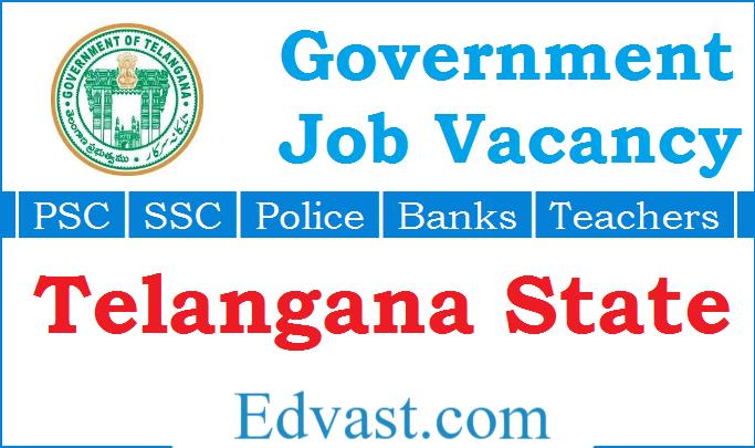 Telangana Govt Jobs 2020