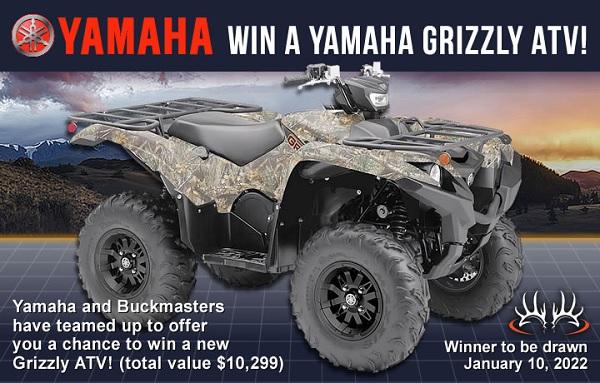 Buckmasters Yamaha Grizzly ATV Contest