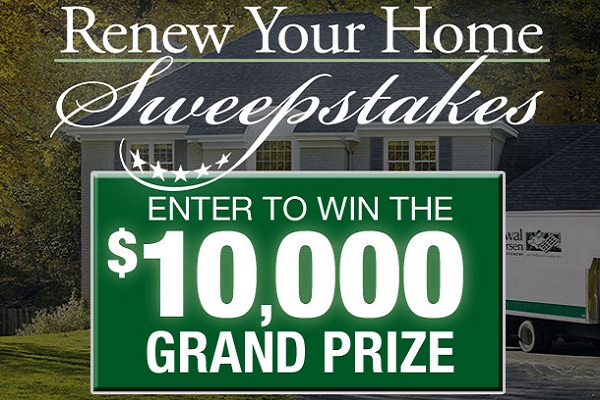 Renewal By Andersen Renew Your Home Sweepstakes